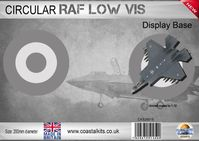 Circular Display Base Royal Air Force Low Vis 200mm
