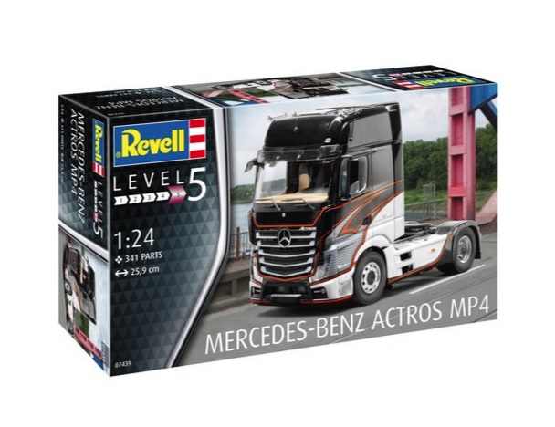 Modish MERCEDES-BENZ ACTROS MP4 Revell 07439 YR96