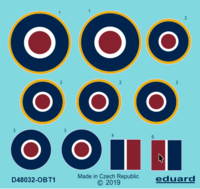Tempest roundels late  EDUARD