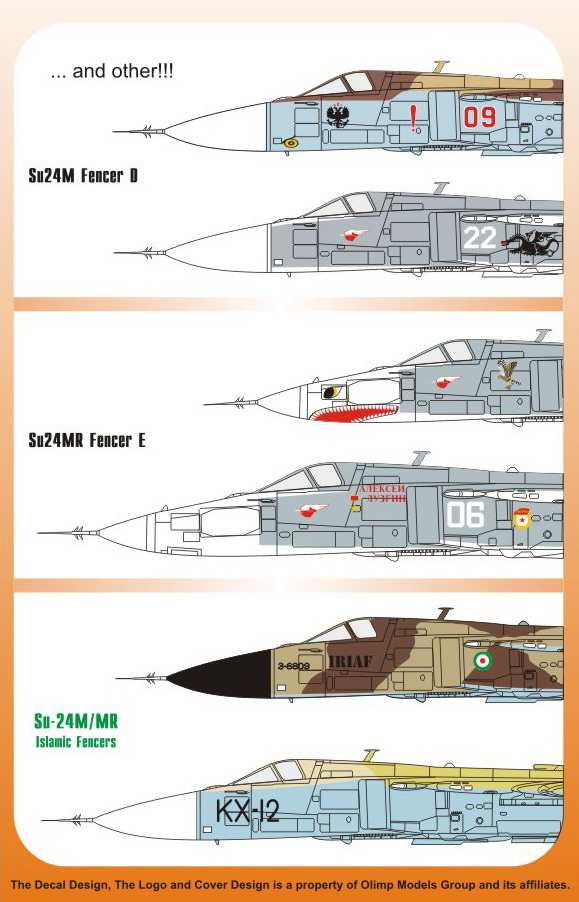 "Sukhoi Su-24 M/MR Fencer D/E ""Islamic Fencers"" - Image 1"