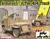 Armored 1/4-Ton 4x4 Truck w/.50-cal Machine Gun