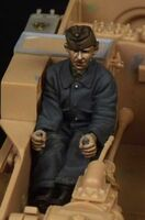 Hungarian L3/35 Ansaldo Driver for Bronco kit - Image 1