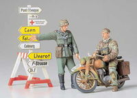 German Motorcycle Orderly Set