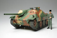 German TD Hetzer Mid Product. - Image 1