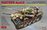 Panther Ausf.G with Full Interior & Cut Away Parts - Image 1