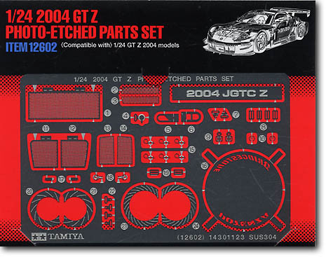 2004 GT Z Photo-Etched Parts Set - Image 1