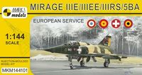 Mirage IIIE/EE/RS/5BA In Europe (French, Spanish, Swiss & Belgian AF)