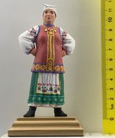 The wealthy Ukrainian woman in national costume var.2 - Image 1